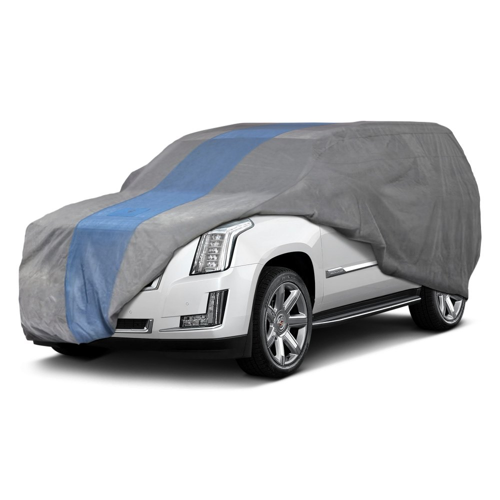 Duck Covers® - Defender Indoor Light Gray SUV Cover