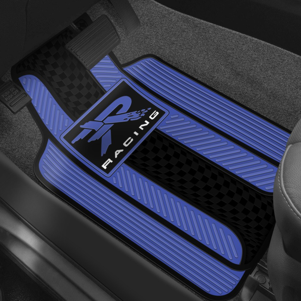 Plasticolor® - Floor Mats with Racing Design