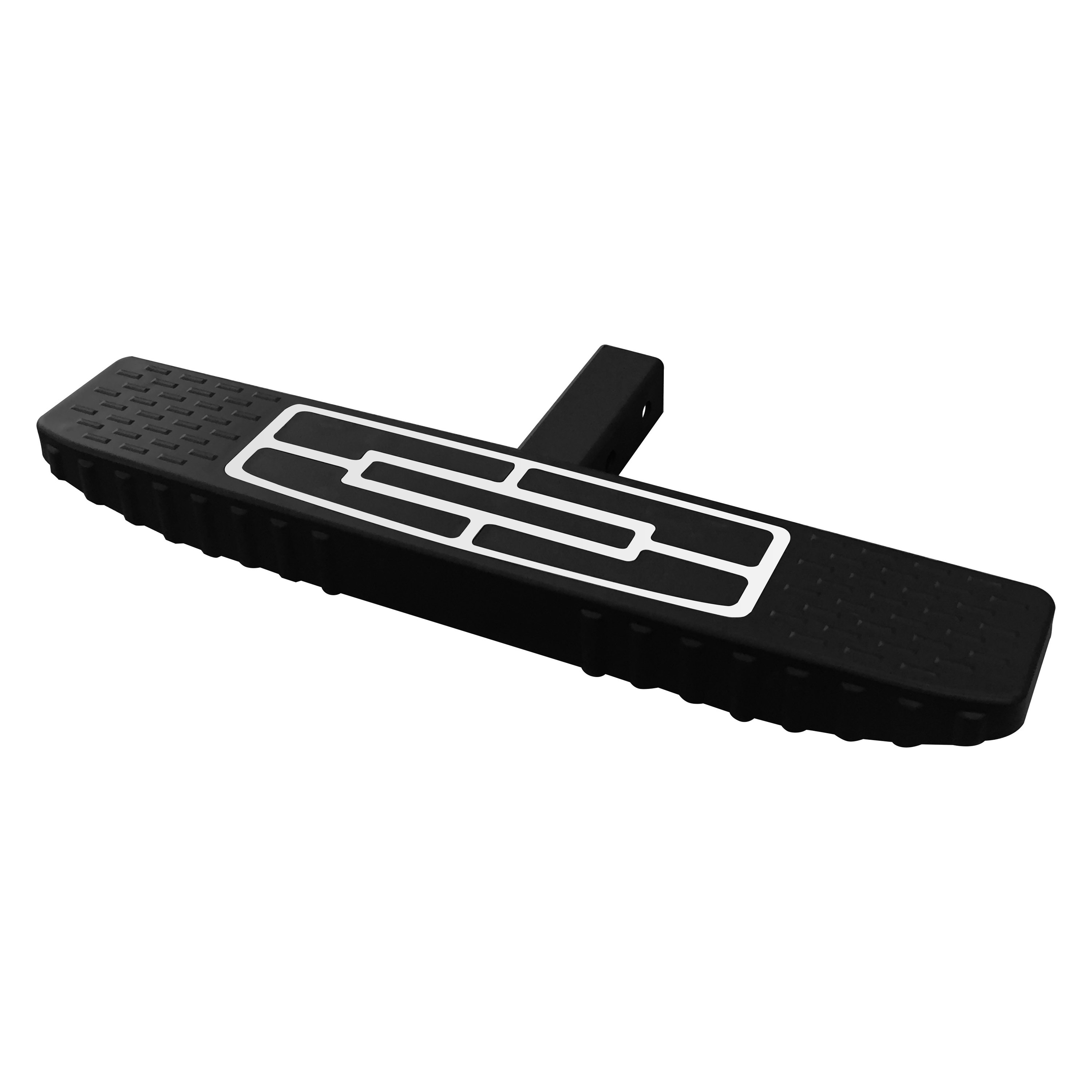 Vanguard Off-Road® - Flat Top Black Hitch Step for 2