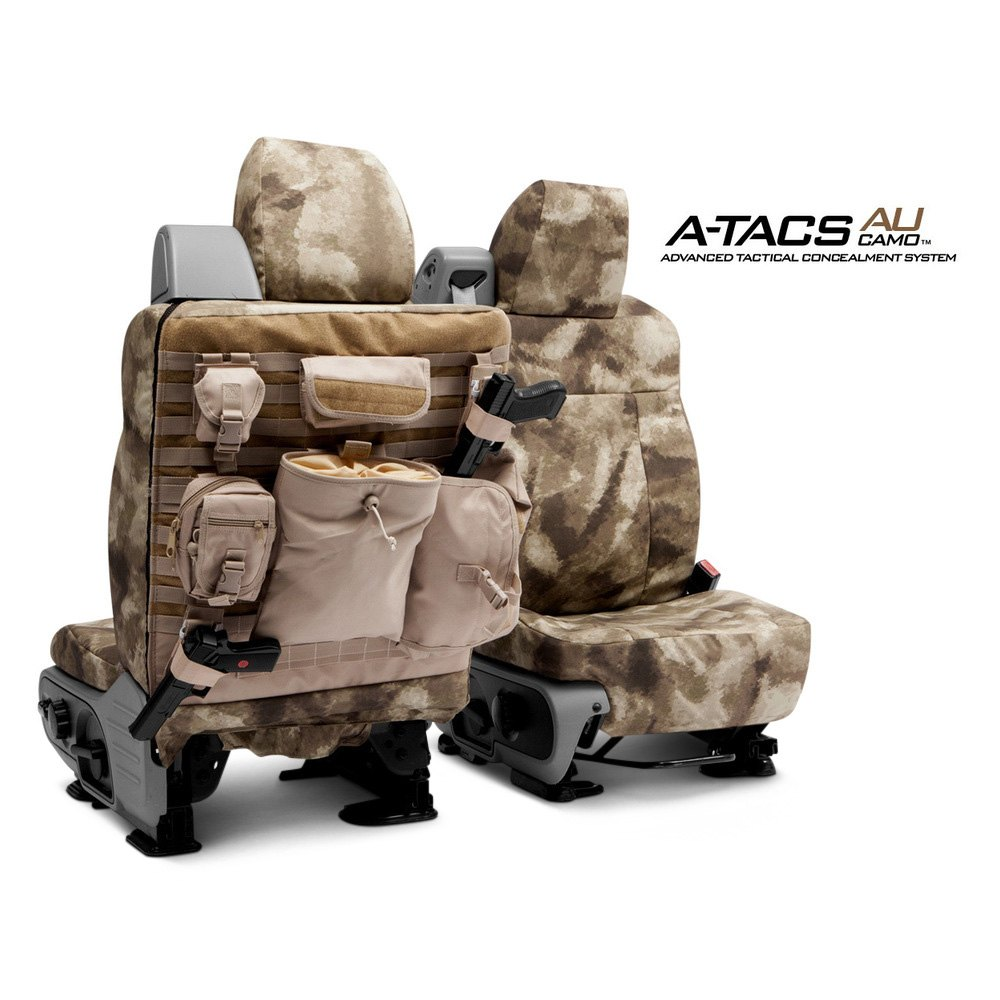 Coverking® - A-TACS™ Tactical Camo Custom Seat Covers