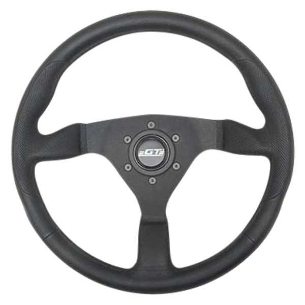 GT Performance® - Switchback Racing Steering Wheel with Molded Grip