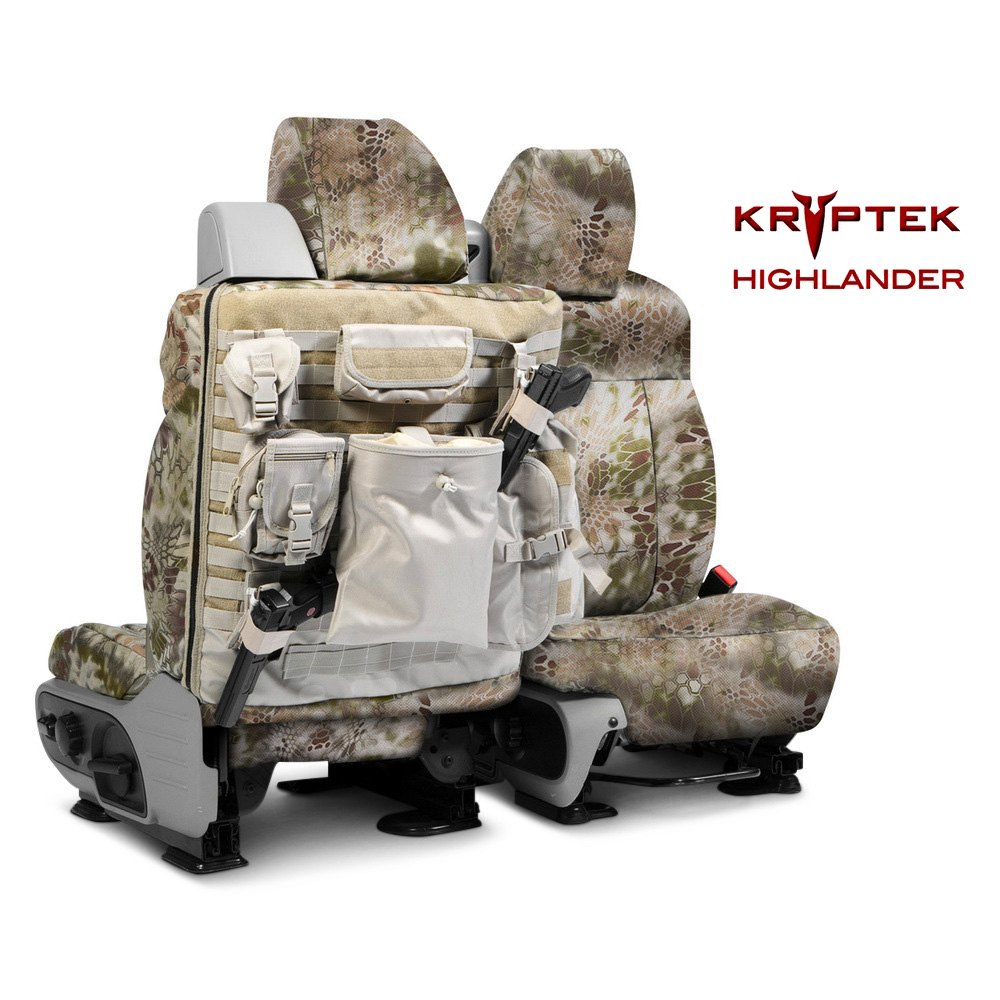 Coverking® - Kryptek™ Tactical Camo Custom Seat Covers