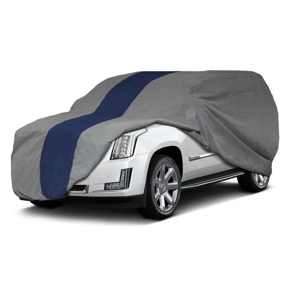 Duck Covers® - Double Defender Gray SUV Cover