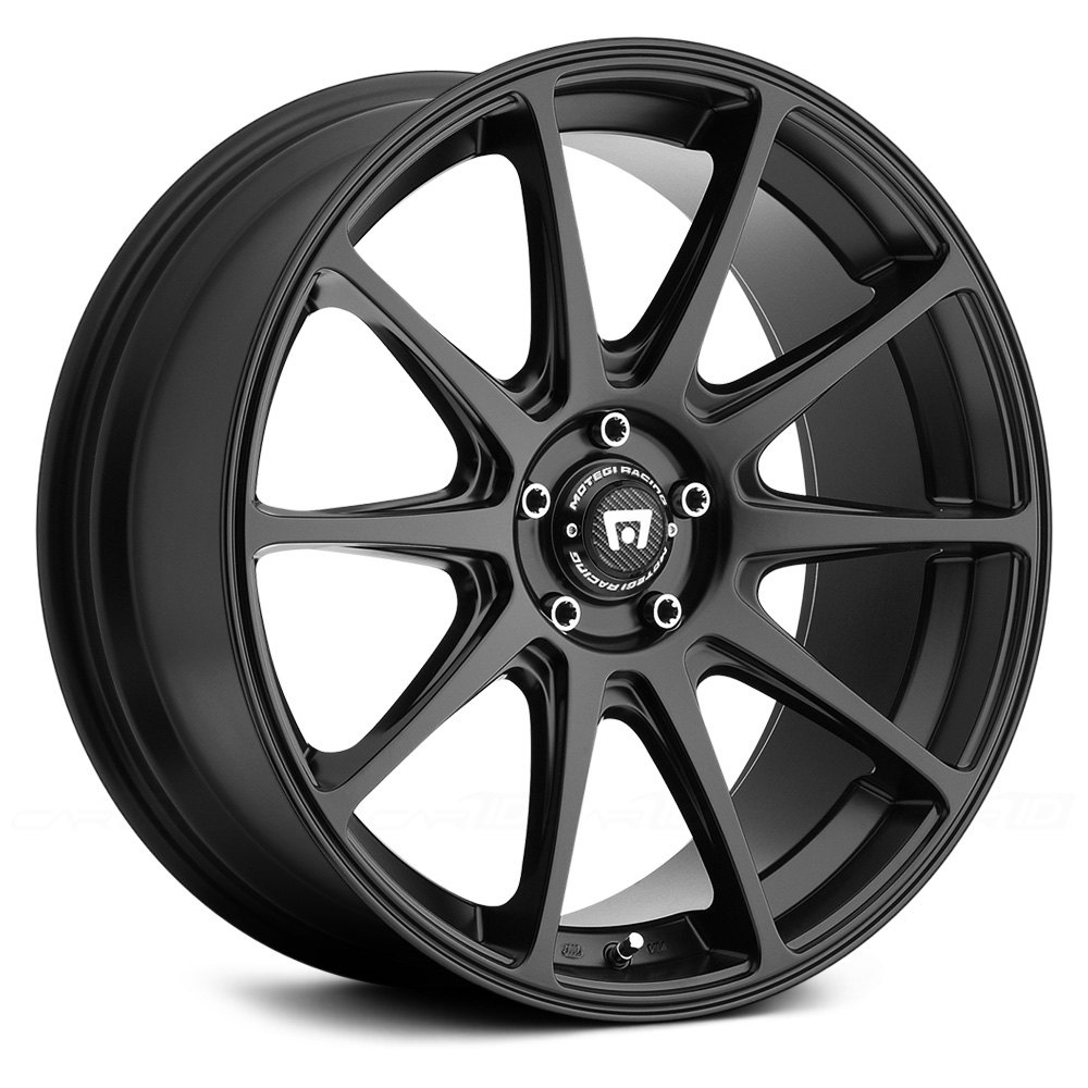 MOTEGI RACING® - MR127 Satin Black