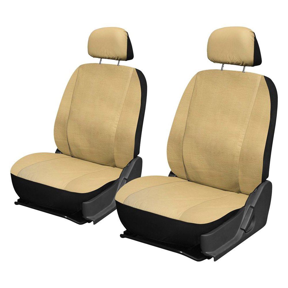 OxGord® - Faux Leather Seat Cover Set
