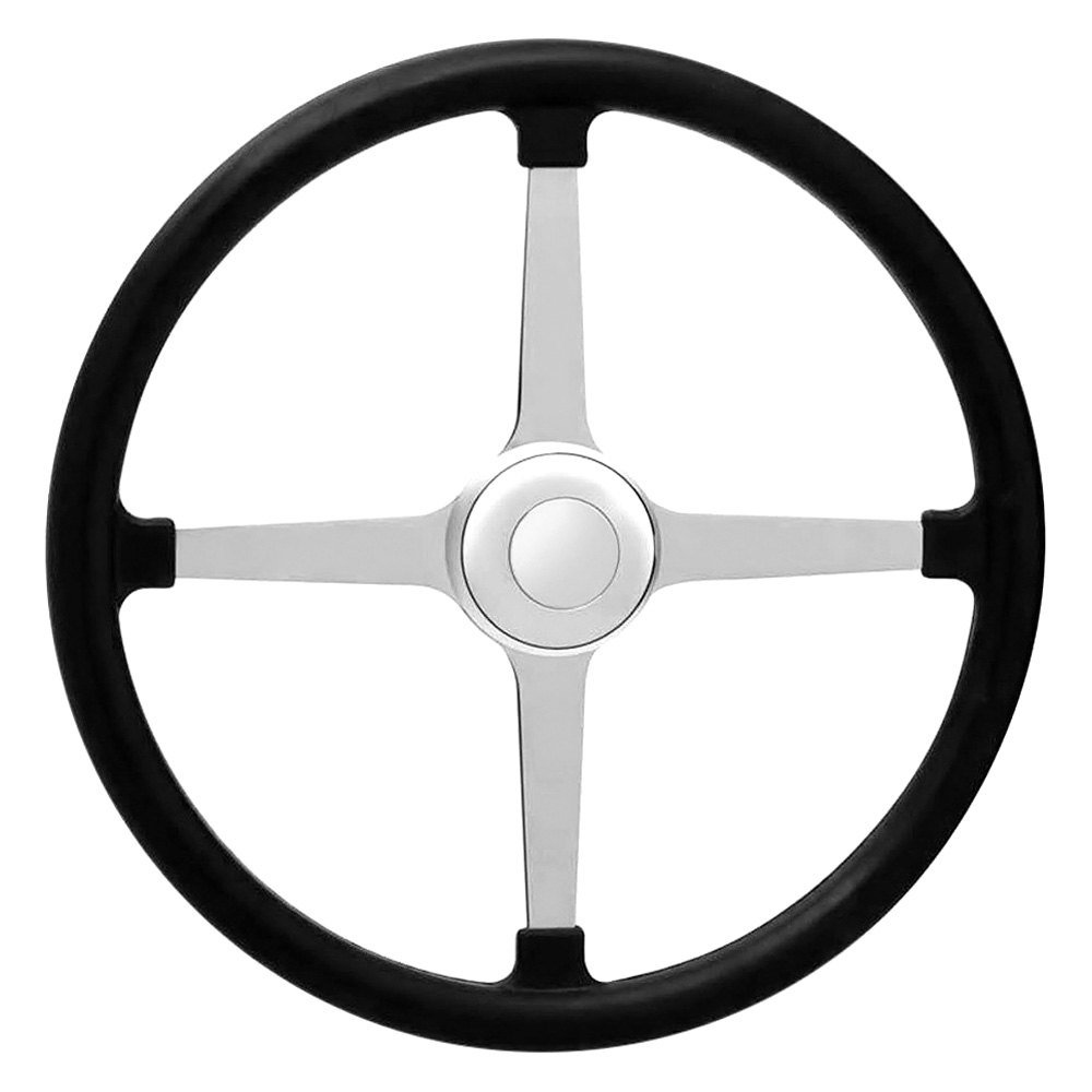 GT Performance® - GT3 Competition Bell Style Rubber Steering Wheel