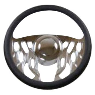 Racing Power Company® - Flames Down Style Custom Steering Wheel