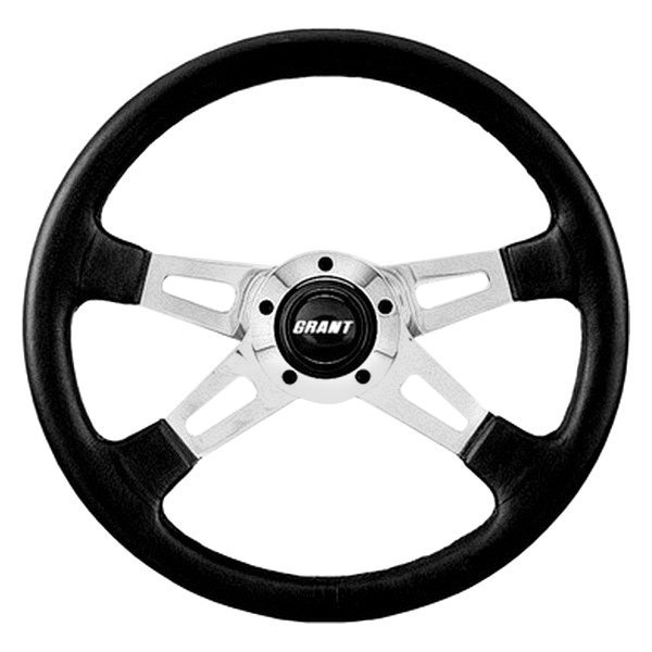 Grant® - 4-Spoke Polished Aluminum Collectors Edition Steering Wheel
