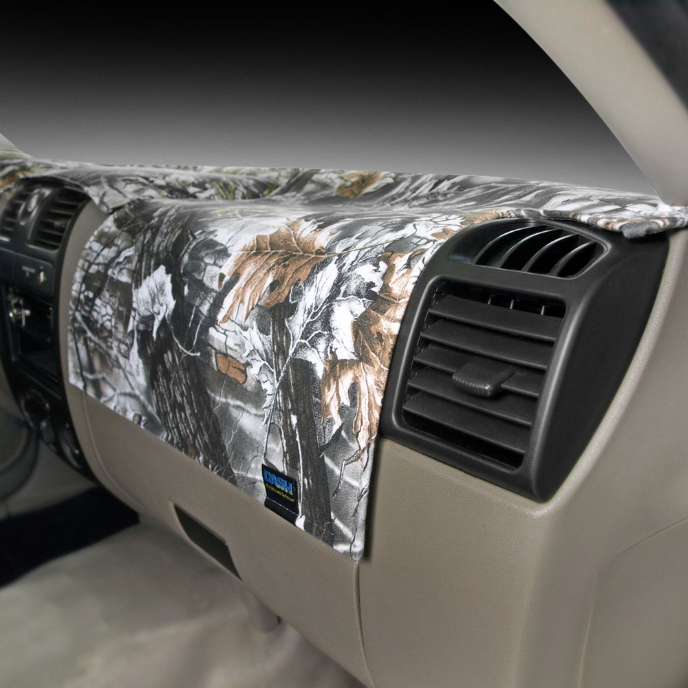 Dash Designs® - Camo Superflage Snow™ Dash Cover