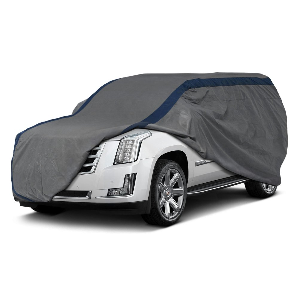 Duck Covers® - Weather Defender Gray SUV Cover