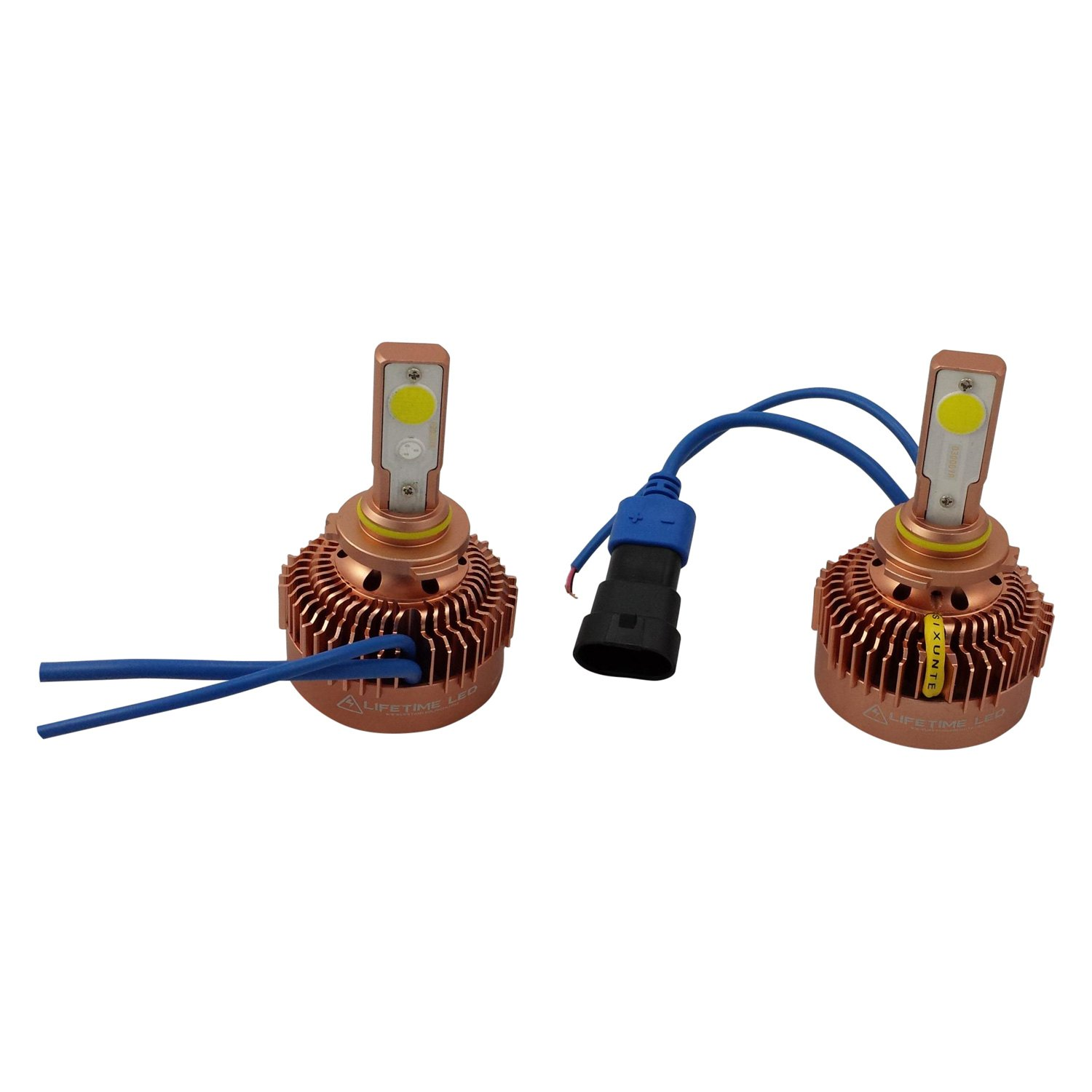 Lifetime LED Lights® - Fanless Blue Light LED Headlight Conversion Kit