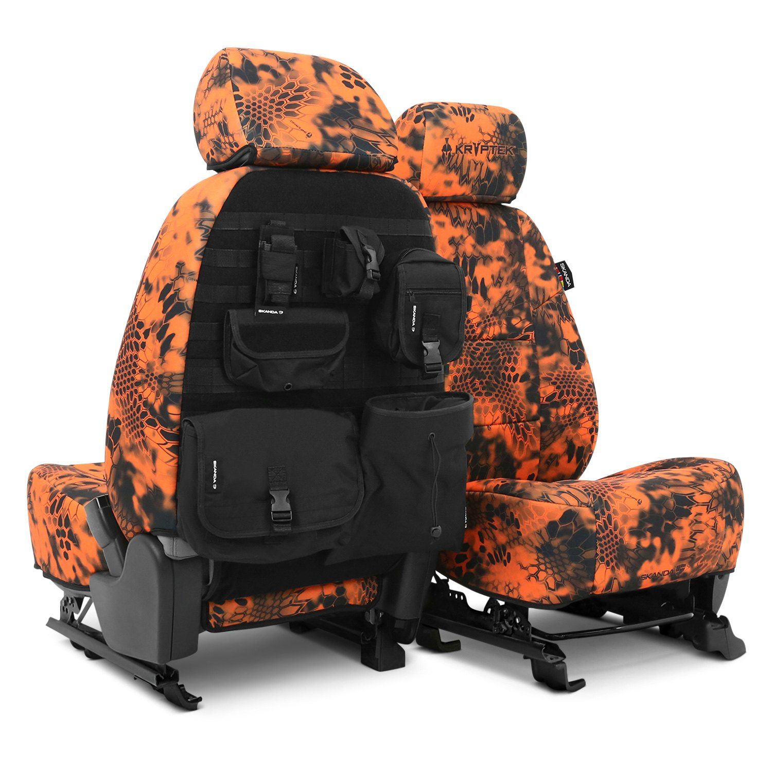Coverking® - Kryptek™ Neosupreme Tactical Camo Custom Seat Covers